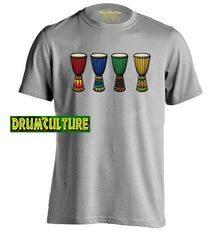 African Drum Mens & Womens Fashion T Shirt