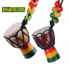Image of Mini African Djembe Drum Necklace