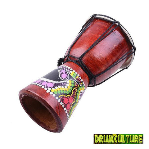 African Djembe Hand Drum 6 Inch (15 cm) Head