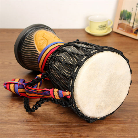 African Djembe Hand Drum 8 Inch (20 cm) Head