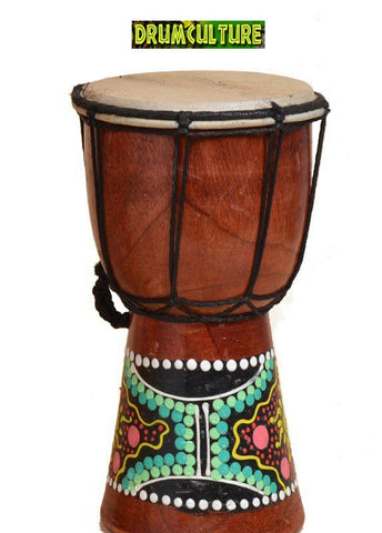 African Djembe Hand Drum 4 Inch (10 cm) Head