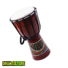 Image of African Djembe Hand Drum 5 Inch (13 cm) Head