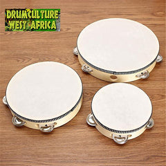Tambourine With Drum Head