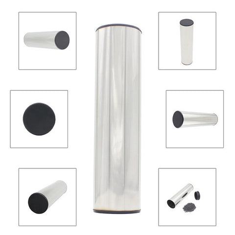 Professional Stainless Steel Cylinder Sand Shaker