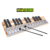 Image of High Quality 25 Note Glockenspiel Xylophone Educational Musical Percussion Instrument with Carrying Bag
