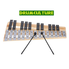 High Quality 25 Note Glockenspiel Xylophone Educational Musical Percussion Instrument with Carrying Bag