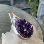 Amethyst Cluster Pendant 001