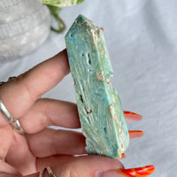 Blue Kyanite Oval Ring Sz8.5 001