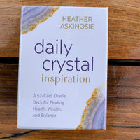 Daily Crystal Inspiration Oracle Cards