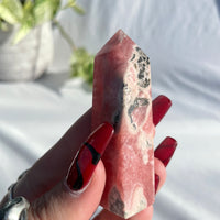 Moonstone Round Ring Sz8 2