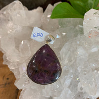 Ruby Wide Teardrop Pendant 1
