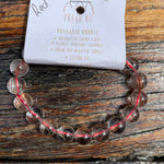 Red Rutilated Quartz Lge Bracelet