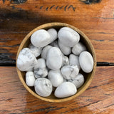 White Howlite Tumbled