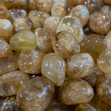 Golden Calcite Tumbled