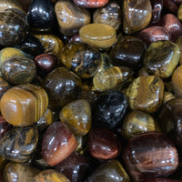 Tigers Eye Tumbled