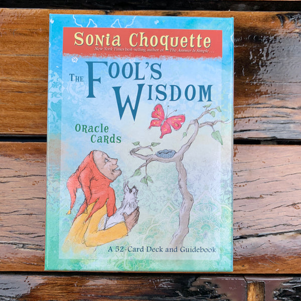 The Fools Wisdom Oracle Cards
