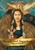 K Gray Angels and Ancestors Oracle Cards