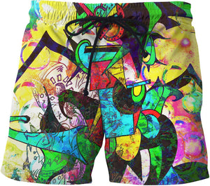 1 Million Dollar Scratch Off Swim Shorts