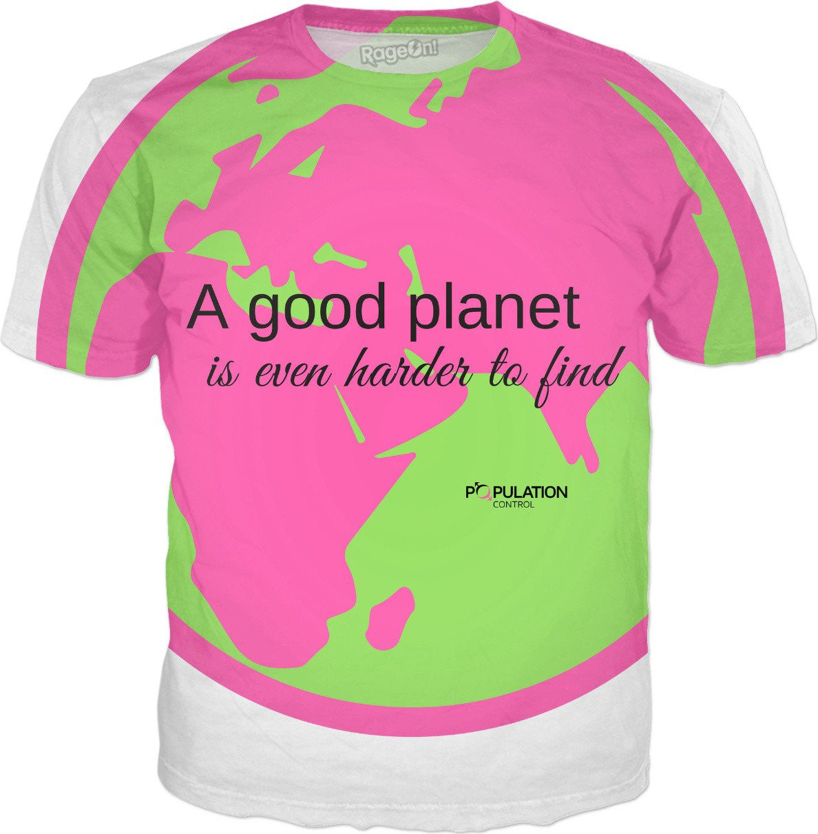 A GOOD PLANET IS EVEN HARDER TO FIND