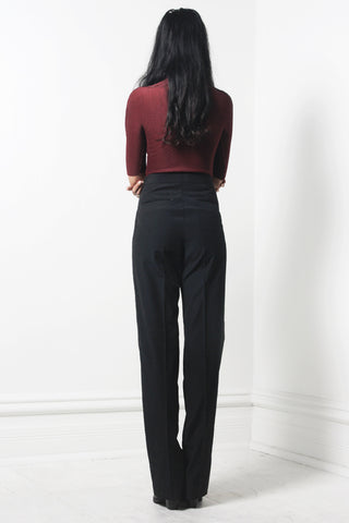 Belted Trouser