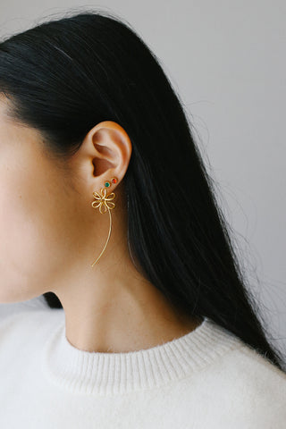Anais Gold Earring