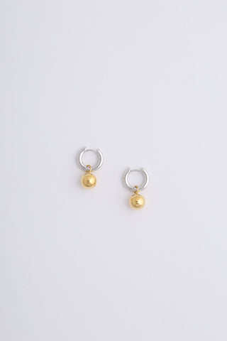 Aura Earrings Silver & Gold