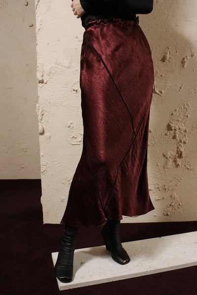 Lambeth Burgundy Skirt
