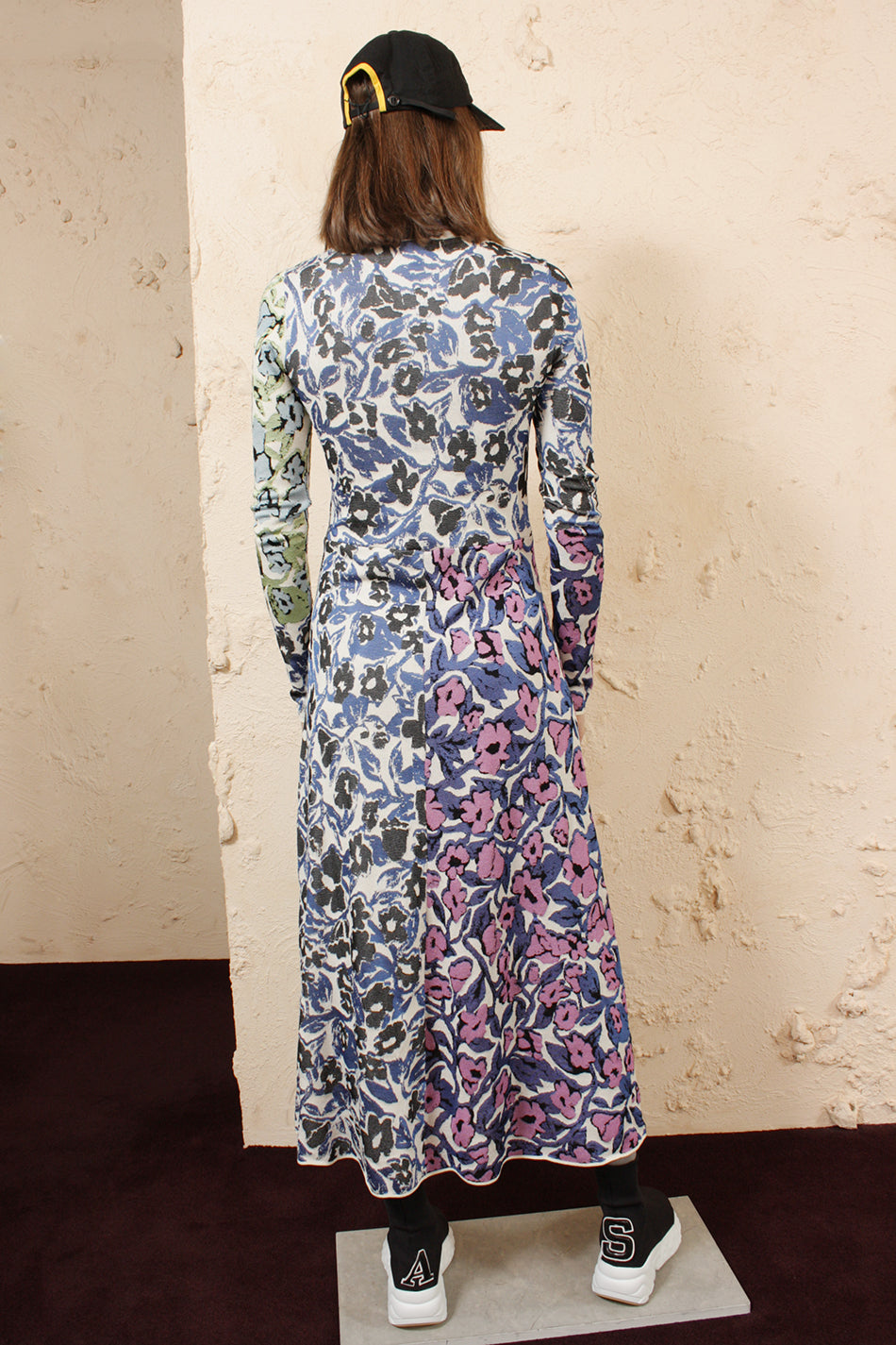 Kitkat Jacquard Dress