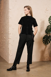 Single Pleated Trouser
