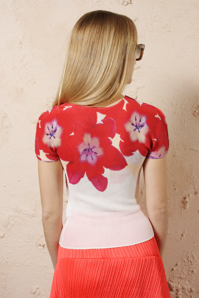 Red Tulip Top