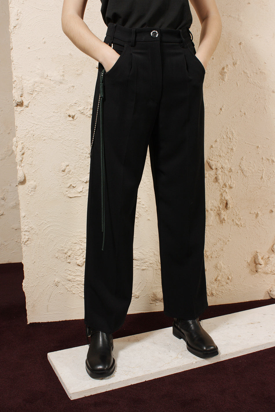 Detachable Chain Pant