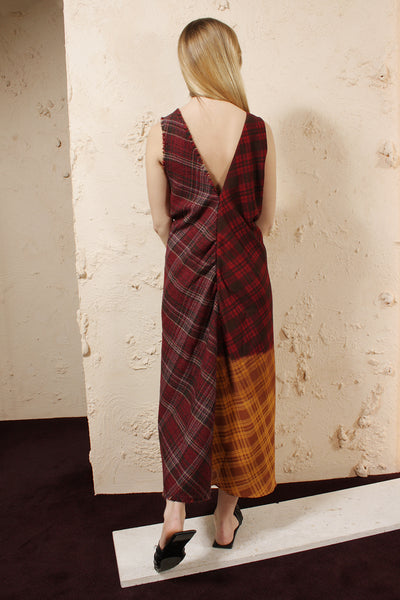 Tartan Twist Dress