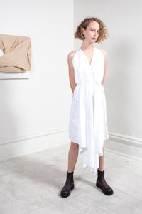 Dixil Dress White