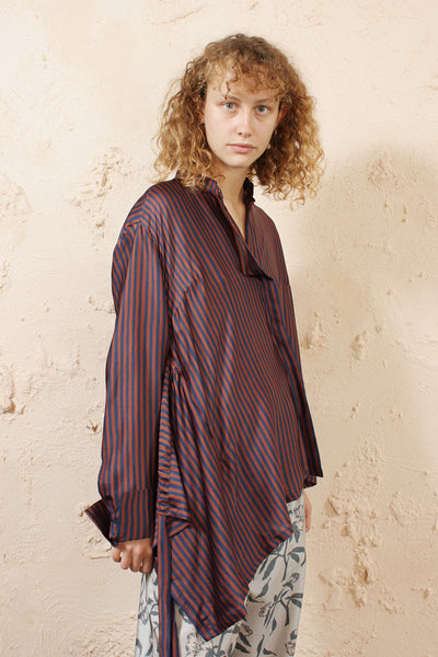 Tipha Striped Blouse