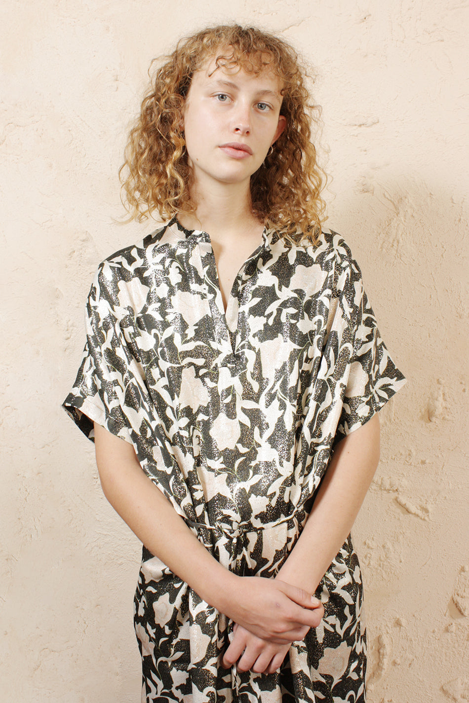 Dipha Flower Shirtdress