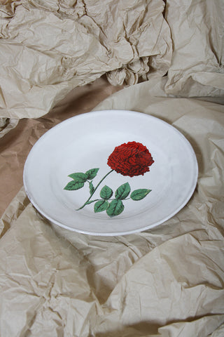 Dutch Hundred Rose Plate