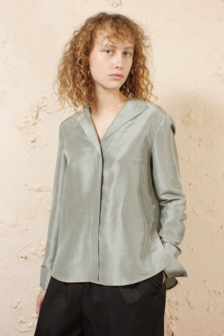 Tarani Silk Blouse