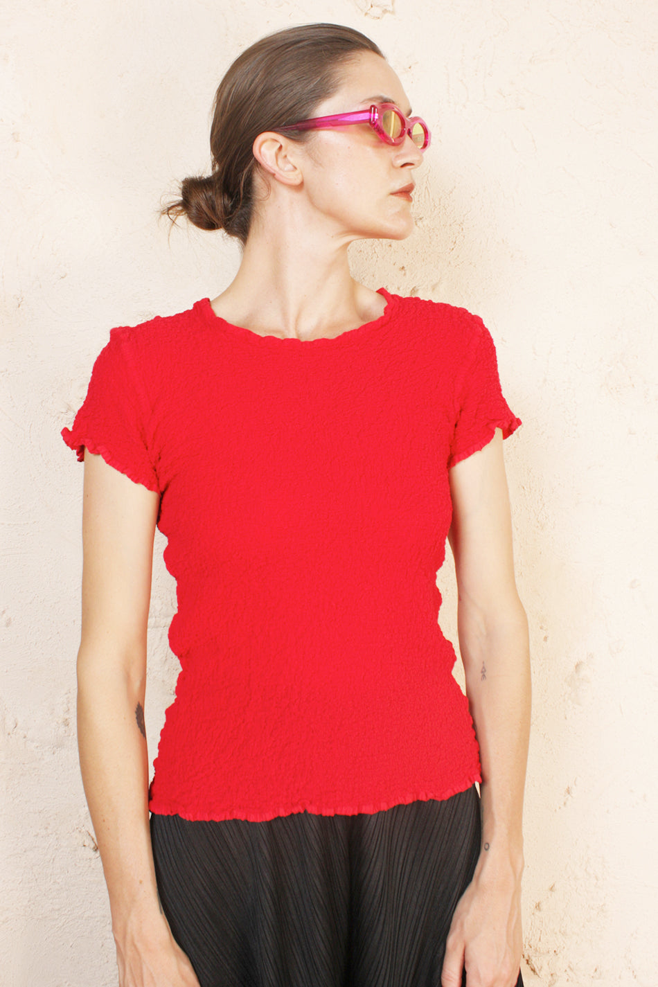 Cauliflower Tee Red
