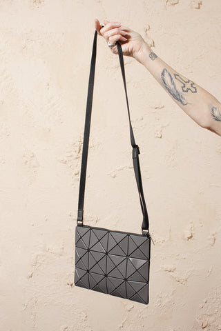 Small Lucent Two Tone Crossbody Grey