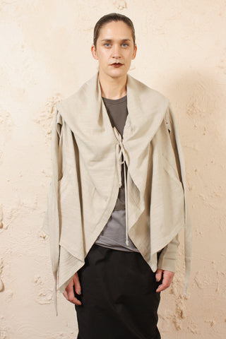 Cropped Hooded Wrap
