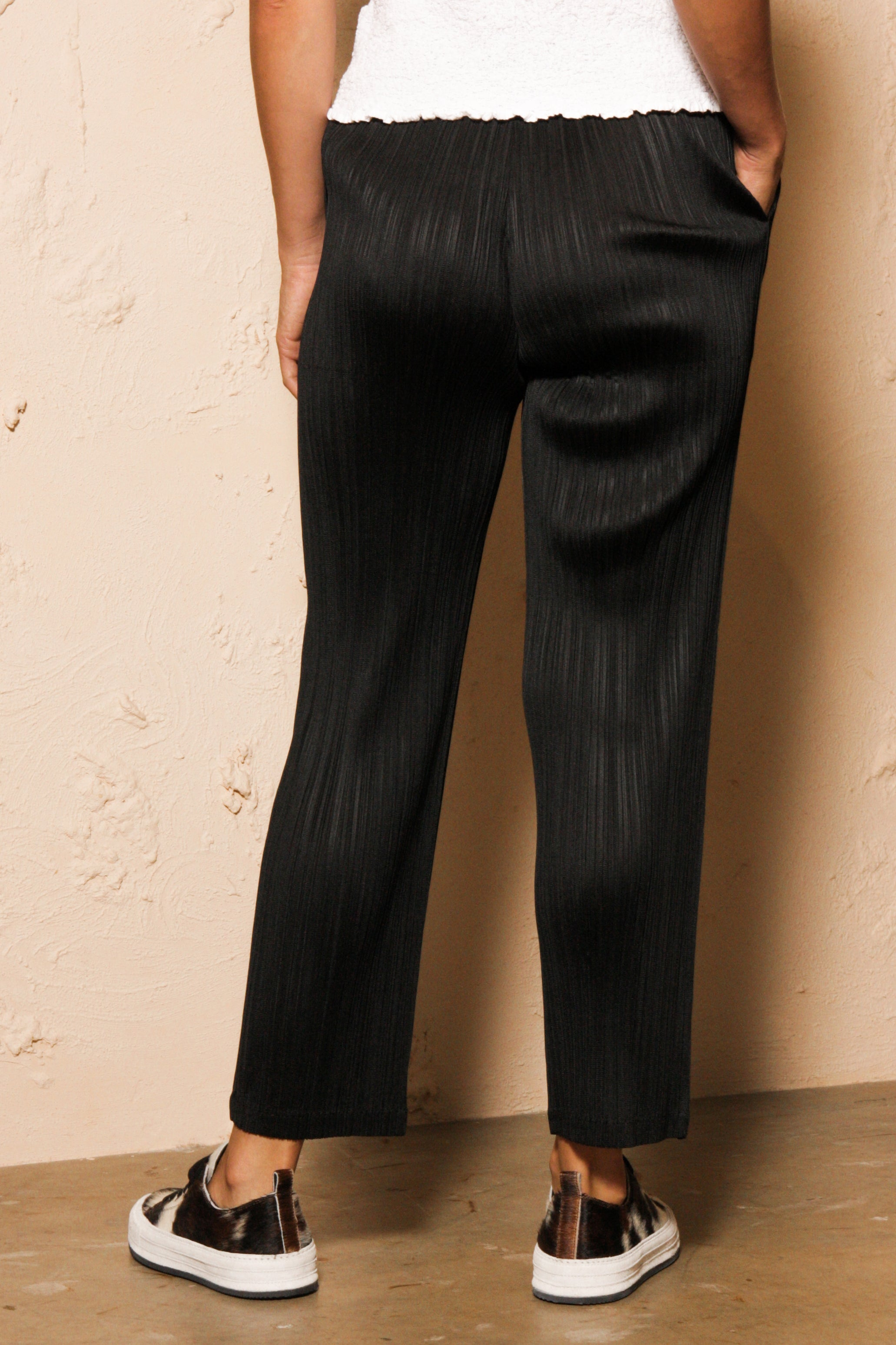 Slim Trouser Black