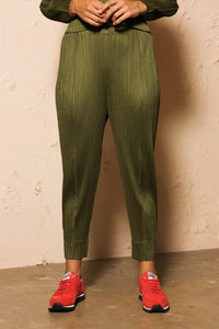 Tapered Trouser Green