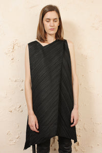 Angular Pleated Tunic