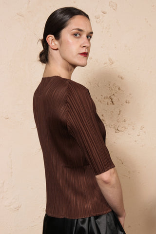 Basic Tee Brown