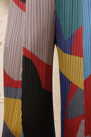 Wide Abstract Pants