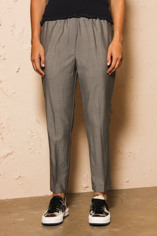 Perun Grey Wool Trouser