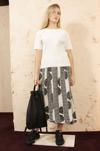 Printed Cauliflower Skirt