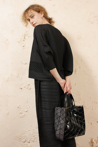 Structured Tote Black