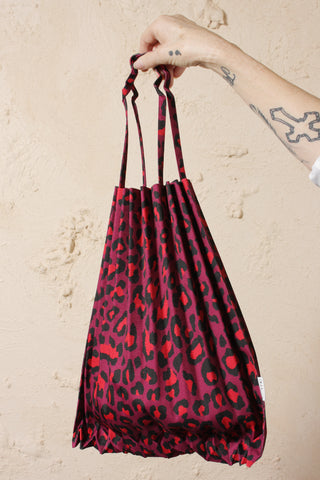 Leopard Printed Bag Pink