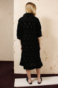 Devore Squiggle Dress
